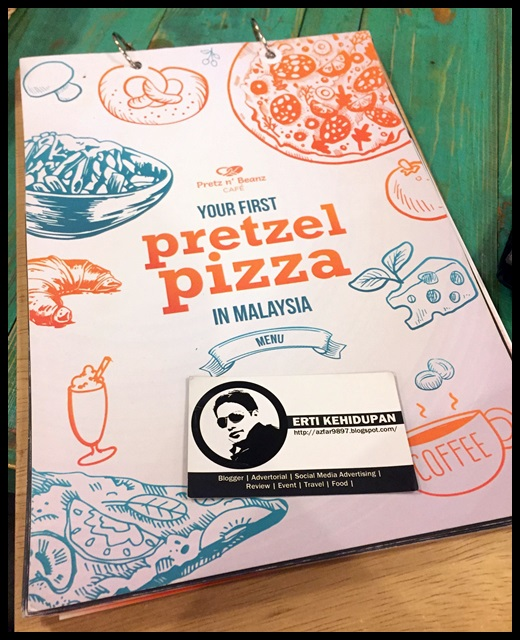 menu Pretz n' Beanz Bangsar