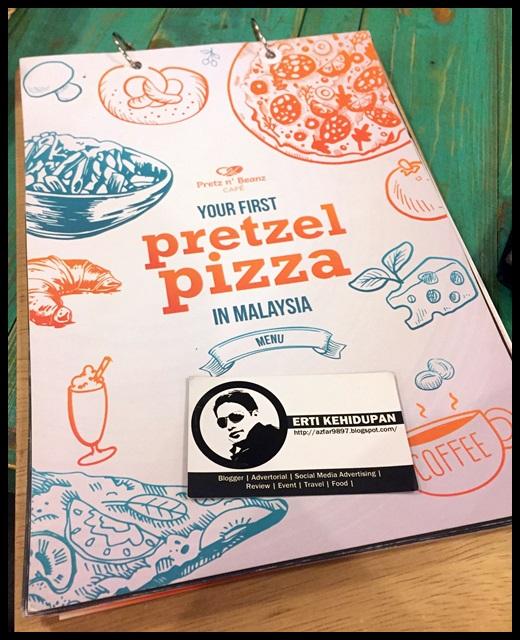 menu Pretz n' Beanz Bangsar