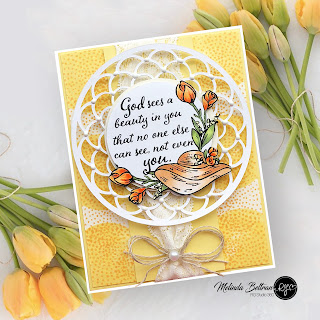 Melinda Beltran | Spring Card | RG Studio 360 | Stamp Sets