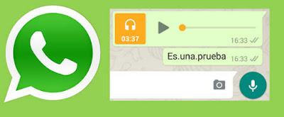 Un cambio importante en los audios de Whatsapp