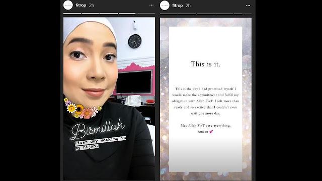 Info berita selebrits terbaru hari ini muncul dari sosok Fitri Tropica, selebriti yang dikenal dengan tingkah lucu dan sedikit menjengkelkan tersebut kini mantap untuk berhijab. Artis yang dikenal dengan sapaan Fitrop itu muncul untuk pertama kalinya dalam salah satu acara televisi dengan menggunakan hijab, dan pada saat itu pula lah Fitrop menyatakan secara live, mengenai keputusan untuk berhijabnya tersebut. Keputusan ini tentunya banyak menarik perhatian masyarakat, utamanya para fans Fitrop, dan kebanyakan dari masyarakat Indonesia yang turut memperhatikan juga menyambutnya dengan sangat baik. Hal ini terlihat melalui kolom komentar di postingan instagram FItrop yang mana banyak dipenuhi dengan do'a-do'a baik serta dukungan mengenai keputusannya dalam berhijab tersebut. Banyaknya dukungan yang diterima oleh Fitrop, tentunya membuat sosok artis yang satu ini banyak mengucapkan kata Terima kasih, Tidak hanya bagi fans saja, tetapi juga bagi sahabat terdekatnya yang tentu telah banyak membantu dalam perubahan yang dialaminya. Dalam ucapan terima kasih yang dilakukannya melalui instagram storynya, Fitrop banyak berterima kasih kepada para sahabat yang telah sabar membantu mengajari dirinya untuk berhijab. Selain itu, mereka pula yang telah banyak memberikan informasi mengenai hijab, hingga penggunaan kain, ciput, dan juga modelnya yang cukup beragam. Tidak hanya itu saja, meskipun mengakui dirinya sebagai sosok perempuan yang centil, namun Fitrop menyatakan bahwa dirinya tengah berusaha untuk mengubah dan memperbaiki tingkah lakunya agar dapat menjadi wanita soleha. Hal tersebut tentunya membuat sang suami yaitu Irvan Hanavi merasa bangga dan bahagia. Pasalnya sosok istri yang dicintainya kini telah mantap untuk berhijab. Hal tersebut juga terlihat melalui unggahan di instagram yang dimilikinya, yang menyatakan bahwa keputusan Fitrop tersebut termasuk dalam rezeki. Dari unggahan tersebut juga diketahui, bahwa sebenarnya Fitrop telah lama berniat untuk berhijab, namu