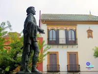 Sevilla - Plaza de los Refinadores - Monumento a Don Juan