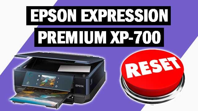 Reset impresora Epson Expression Premium XP-700