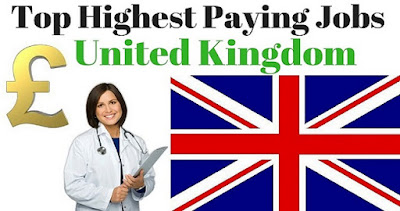 High Paying Jobs in UK without Higher Level Education