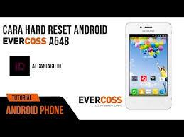 cara Flashing Evercoss A54B tested work 100%