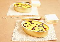 Mousse de Foie con geleé de mango y crema de módena