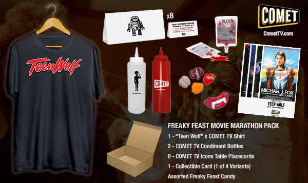 GIVEAWAY: COMET TV Teen Wolf & Freaky Feast prize pack