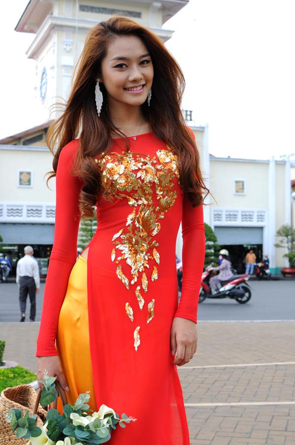 Vietnamese Ao Dai Asia Models Girls Gallery-8530