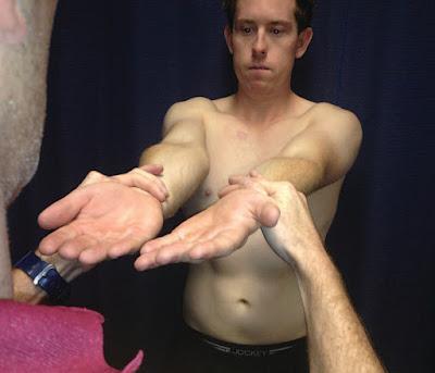 O' Brien's Active Compression Test 2 - El Paso Chiropractor