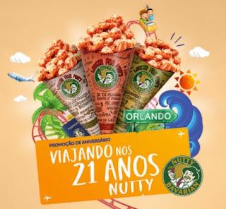 Cadastrar Promoção Nutty Bavarian 2017 Aniversário 21 Anos Viagem Orlando