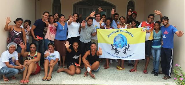 Grupo de Juventude Missionária é formado em Eunápolis, sul da Bahia
