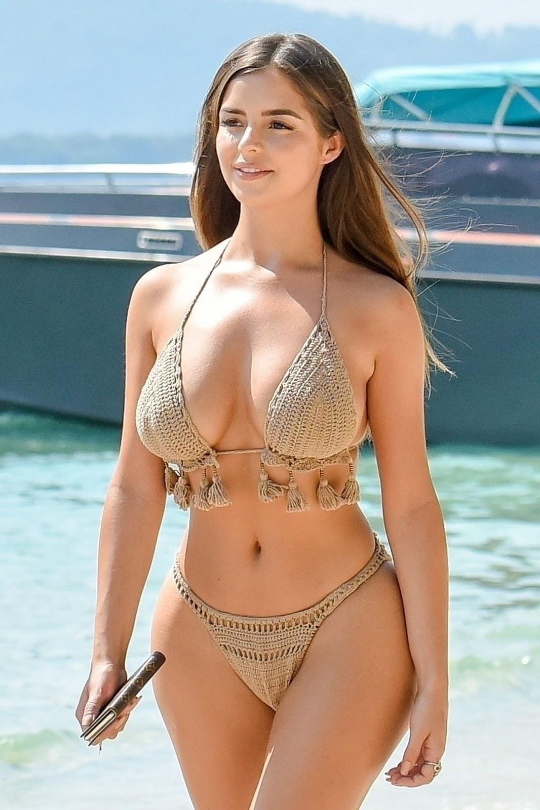 Demi Rose - On a beach in Phuket, Thailand - 02/07/2019
