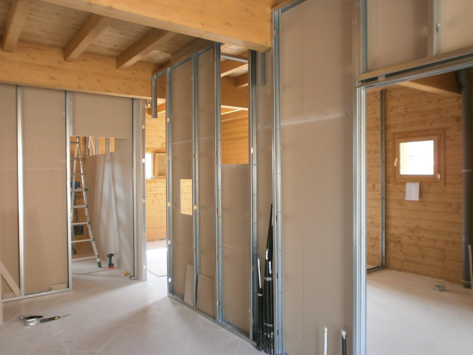 La nuova sede della banda di fognano pareti in cartongesso for Immagini di pareti in cartongesso