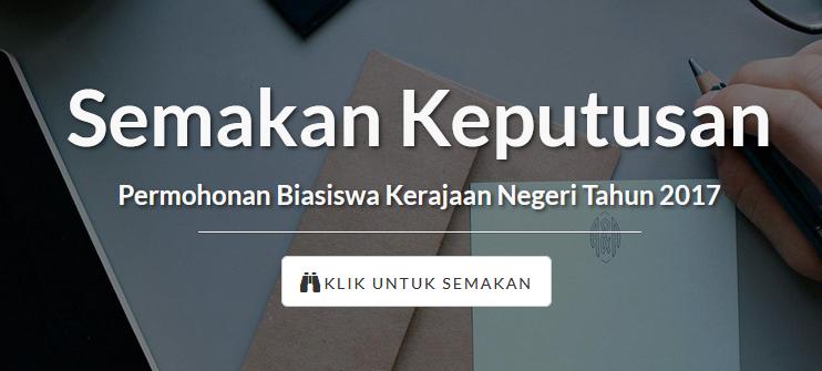 Semakan keputusan BKNS online
