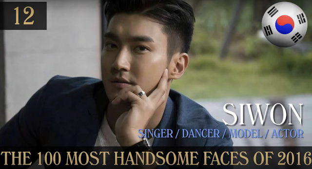 Choi Siwon 100 Handsome Faces