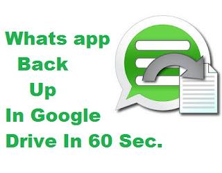 Whats App Ka Backup Kaise Le Tips In Hindi