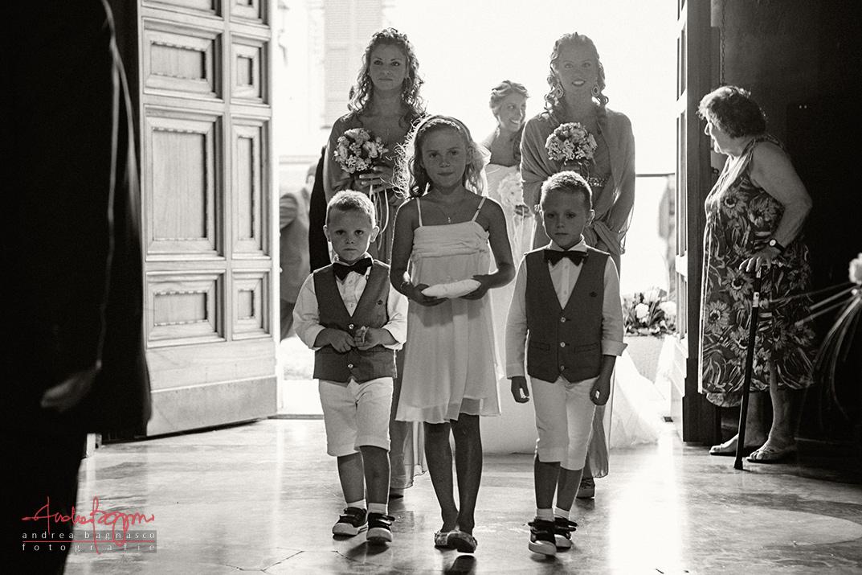 ingresso sposa matrimonio Sant'Ambrogio Varazze