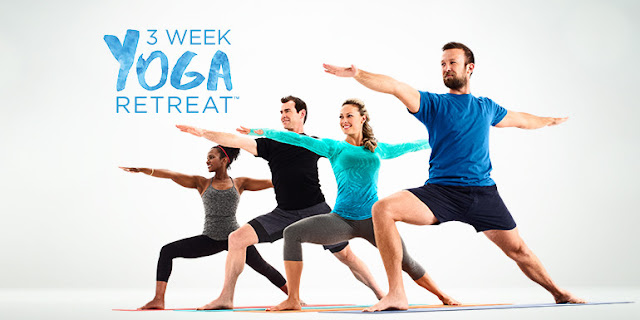 3-week Yoga Retreat for beginners launches today! Get it on Beachbody On Demand.
