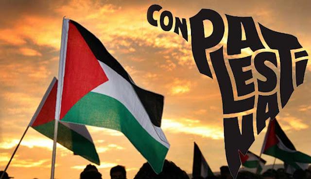 Apoio da America Latina ao povo palestino e sua cuasa