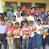कानपुर - नेत्रहीन बच्चों को खाद्य सामग्री का कराया वितरण