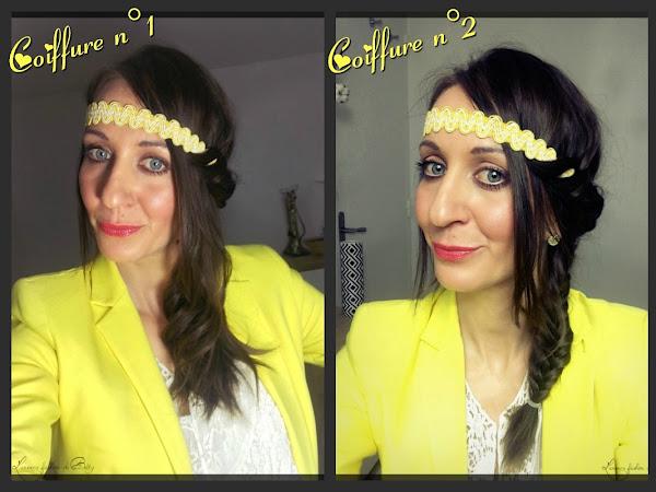 3 coiffures avec un headband - Partenariat accessoirescheveuxchics.com