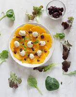 Ensalada de naranja con brandada de bacalao by Joan Roca