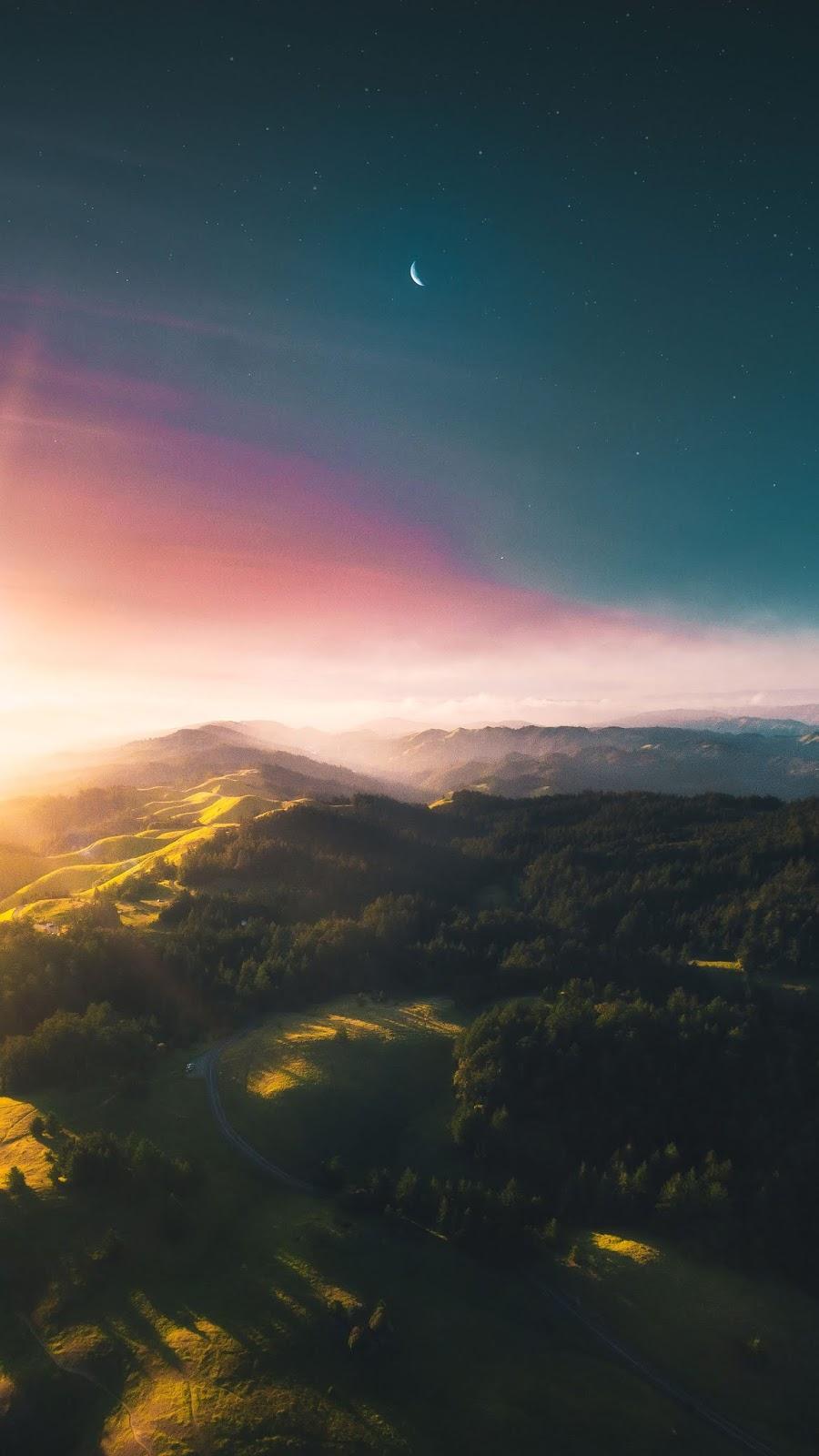 Dreamy hills