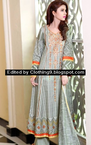 Latest Embroidered Collection 2015
