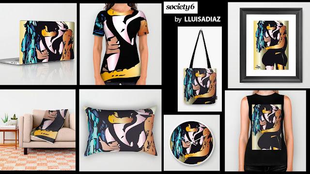 Diseños para Society6 by LLUISADIAZ
