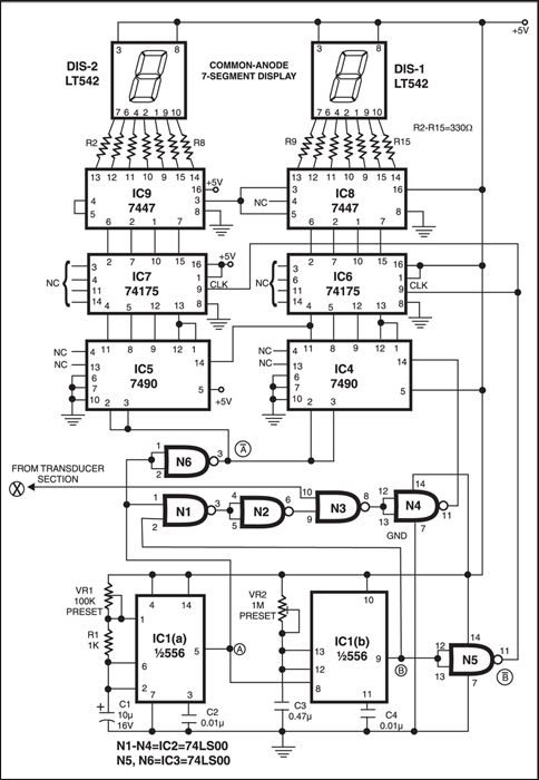 electrical and electronics engineering  digital speedometer