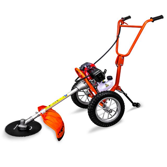 เครื่องตัดหญ้ารถเข็น 2 จังหวะ 2.4 แรงม้า