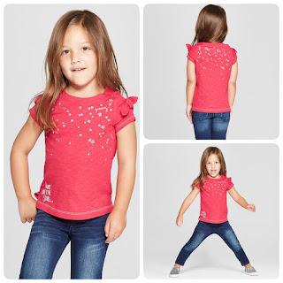 Set áo bé gái C@t & Jack, Hàng Gia công tại Vn. Mình chỉ có set sz 3T và 4T .