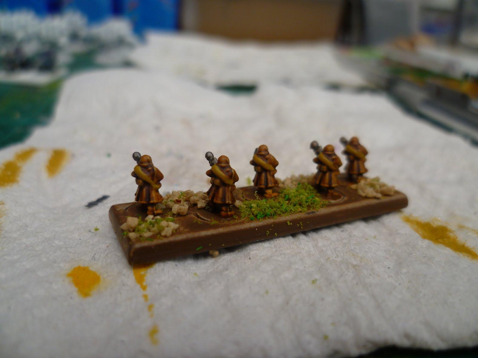 Steve Milford's Hobby blog: Epic 40K - imperial guard