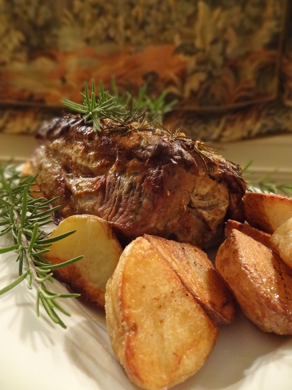Scrumpdillyicious: Roasted Boneless Pork Rib with Mustard ...