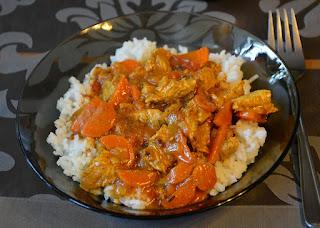 orientalny gulasz z indyka