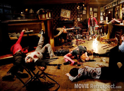 Frequently Asked Questions About Time Travel - Movie Still - Pub Massacre