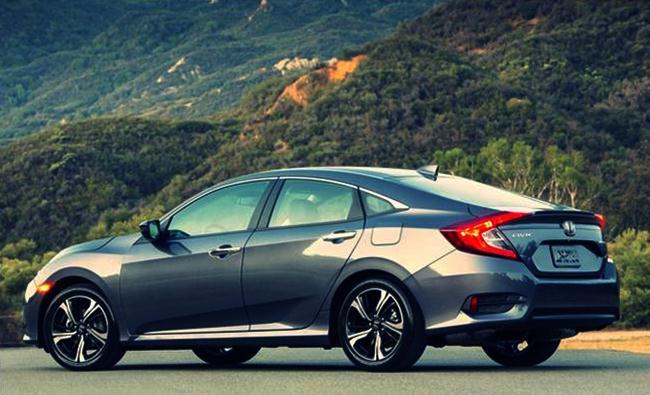 2016 Honda Civic Sedan Press Kit Chassis