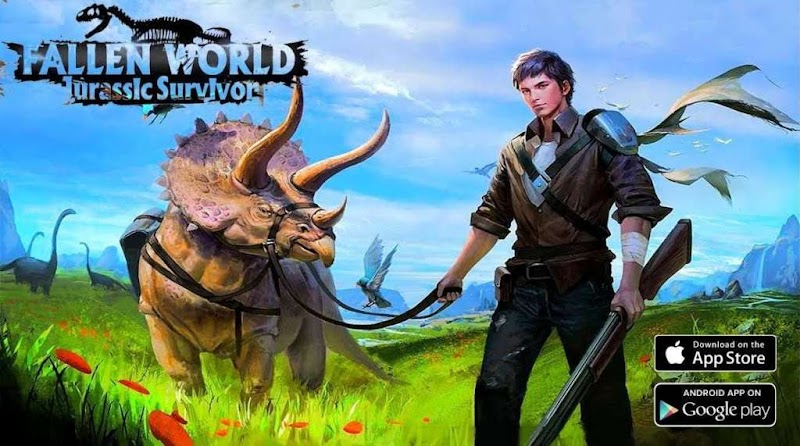 Fallen World Jurassic Survivor v1.103 Apk Mod
