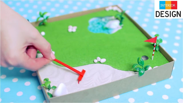 DIY Miniature Golf Zen Garden 93
