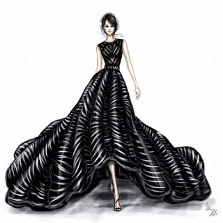 Váy cưới màu đen bí ẩn