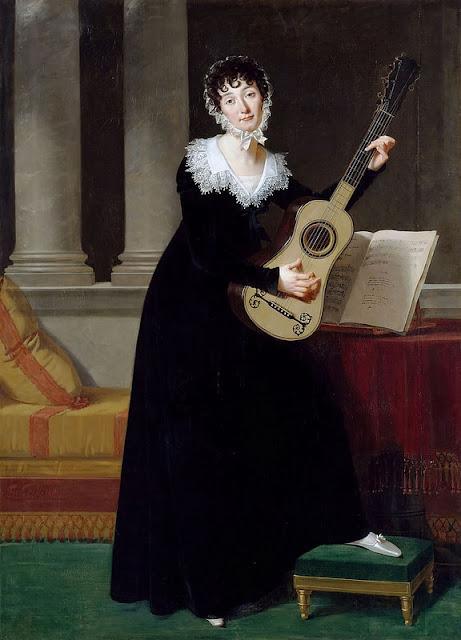 Portrait of Pauline Duchambge - Robert Lefevre
