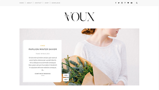 Voux Slider Blogger Template