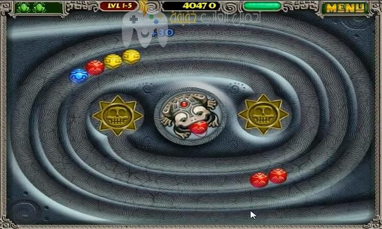 تحميل لعبة زوما القديمة Zuma للكمبيوتر برابط مباشر من ميديا فاير