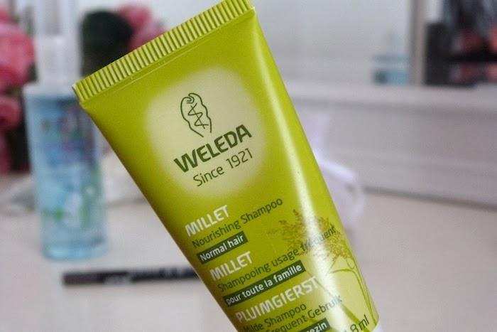 a photo of millet nourishing shampoo