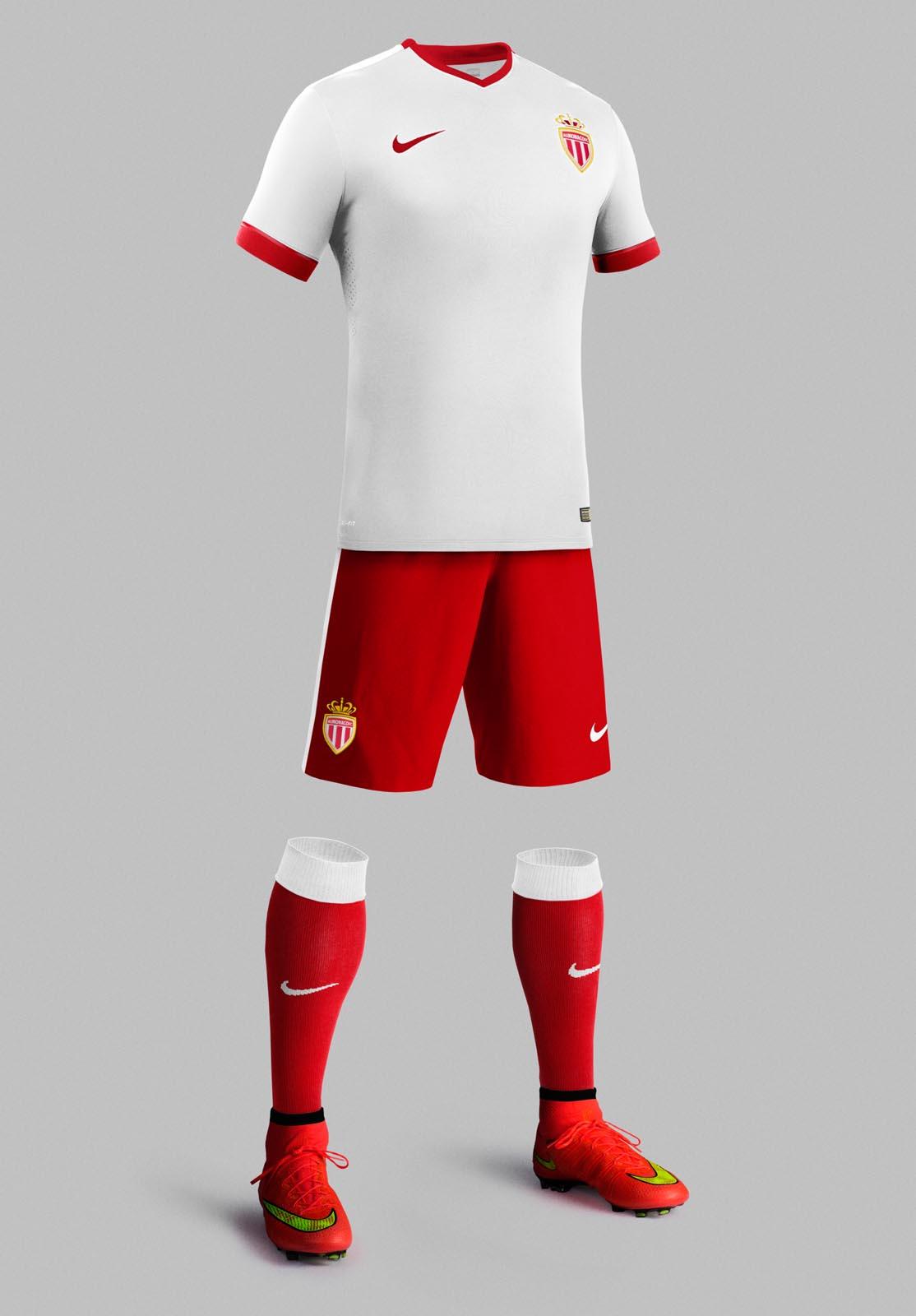 New Nike AS Monaco 14-15 Kits Released