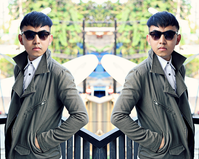 MEN'S FASHION BLOGGER INDONESIA IN MAISON MARTIN MARGIELA