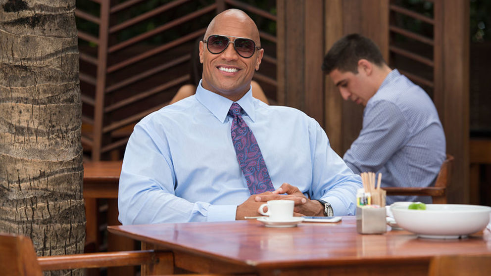 "Dwayne ""The Rock"" Johnson has been named the world's highest paid actor by Forbes, raking in $64.5m (£49m)."