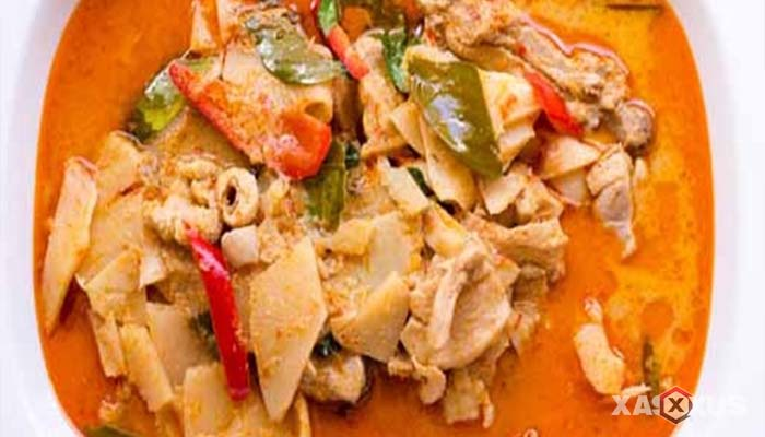 Resep sayur lodeh rebung pedas