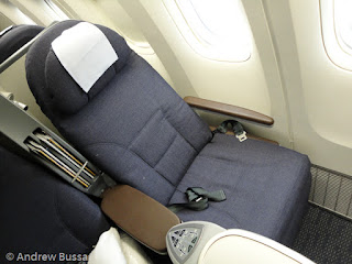 United Airlines 777 Business Class Flat Seat