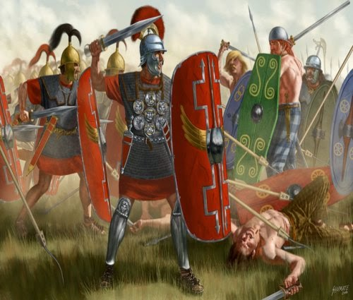 Caesars Gallic War Battle Reports & Scenarios